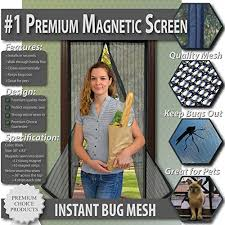 Patio Door Magnetic Screen The 5 Best Magnetic Screen Doors Product Reviews And Ratings