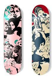 skateboard designen 30 cool vector illustrated skateboard decks