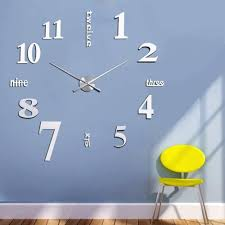Minimalistic Wall Clock by 15 Big Time Designs With Huge Wall Clocks