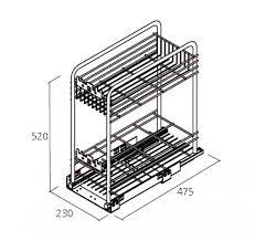panier coulissant pour meuble de cuisine cuisine meuble cuisine paniers meuble cuisine meuble cuisine