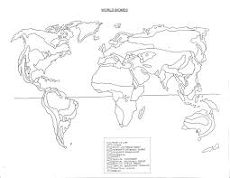 free coloring pages of world map biomes map of the world with