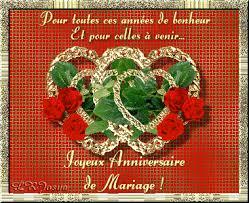 27 ans de mariage ce 27 mars ses notre anniversaire de mariage 29 ans woooo karine