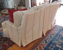 chair u0026 sofa usual slipcovered sofas for classic sofa idea