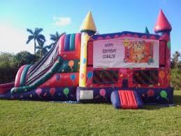 bounce house rental miami combos cinnamonstixx party rentals miami bounce house rental