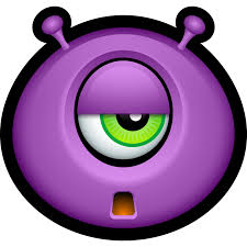 alien avatar buddy creature cyclops emoticon mike monster