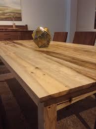 oregon myrtlewood shaker dining table the joinery portland oregon