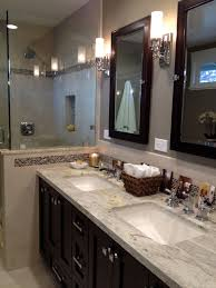 colonial bathroom bathroom traditional with soaking bathtub beige trim