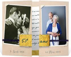 mariage pour les invitã s invitation anniversaire de mariage pour se rappeler en images de