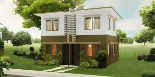 Modern duplex house design philippines