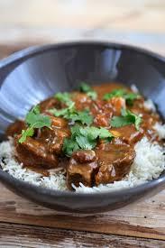 boeuf cuisiné curry de boeuf très parfumé on dine chez nanou recette de