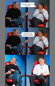 Bill Gates And Steve Jobs Meme - best of the steve jobs and bill gates meme photo techeblog