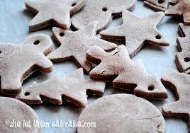 gluten free salt dough ornaments she let them eat cake