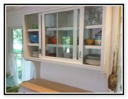 Kitchen Cabinet With Sliding Doors Sliding Kitchen Cabinet Doors Barn Door