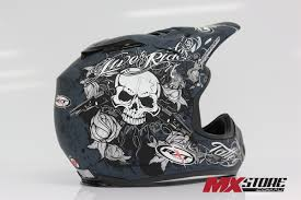 ebay motocross helmets rxt mx gear cheap a717 tattoo charcoal silver motocross dirt bike