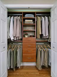 furniture gorgeous bedroom closet design with oak organizer