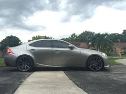 lexus is350 performance mods 2015 is250 f sport atomic silver rioja red build thread
