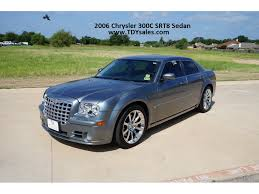 for sale 2006 chrysler 300c srt8 sedan v8 6 1l tdy sales 817