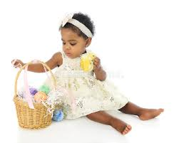 baby s easter basket baby s easter basket stock photo image of colorful 38922228