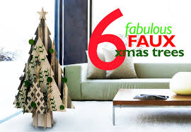 6 fabulous faux christmas trees that are even better than the real