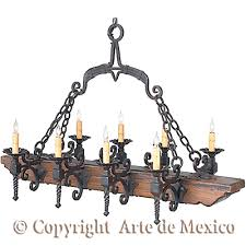 Wrought Iron Chandeliers Mexican Ch067 2 Wrought Iron Lighting Page