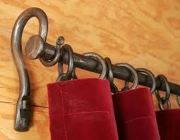 Copper Curtain Rod Brackets Hardware
