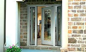 front doors with side lights sidelights for front doors attiremodish top
