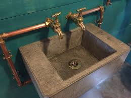 Hands Free Kitchen Faucet Best 25 Concrete Sink Ideas On Pinterest Concrete Design