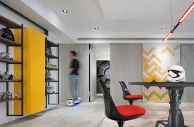 Gallery Of Star Wars Home White Interior Design 12