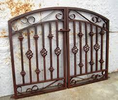 Double Swing Donovan Double Swing Iron Gate 5 U0027 Wide