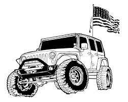 jeep logo drawing mass jeep runs