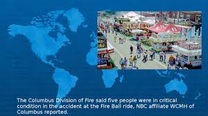 Ohio State Fair Map by One Dead Several Hurt In Ohio State Fair Ride Accident Youtube