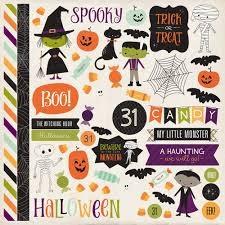 Halloween Stickers Printable by Echo Park Paper