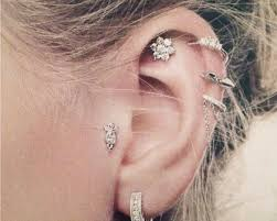 how do you wear ear cuffs how to wear ear cuffs closetful of clothes