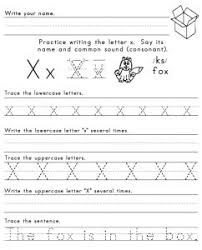letter x worksheets for preschool preschool and kindergarten