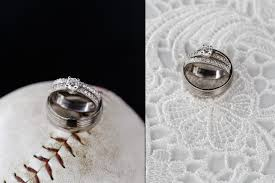 Baseball Wedding Ring by Lynnae Adam A Lakeside Greens Wedding Chestermere Alberta