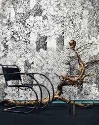 captivating wall murals that transform your home view in gallery brilliant core of nature wall mural by graham samuels