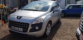 peugeot crossover used used peugeot 3008 1 6 hdi 112 sport 5dr 5 doors hatchback for sale