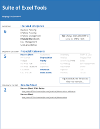 Balance Sheet Software In Excel by Balance Sheet Excel With Ratios Business Insights Group Ag