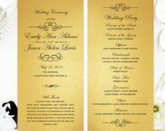 cardstock for wedding programs gold confetti wedding programs printed on luxury pearlescent