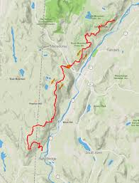 Map Of Northern New York by Appalachian Trail Run From Kent Leatherman Harriers Trail
