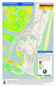 Map Of New Jersey Shore Brigantine Nj