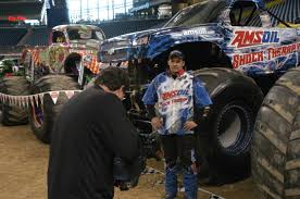 show me monster trucks the monster truck driver no joe schmo