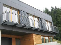 freitragende balkone stahlbalkone danner