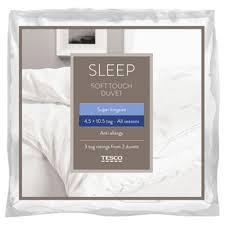 3 Tog Duvets Buy Tesco Anti Allergy Single Duvet 10 5 Tog All Seasons Soft