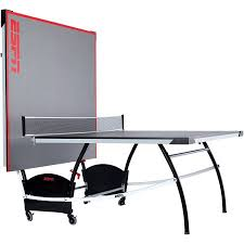 Table Tennis Dimensions Espn Official Size Table Tennis Table With Built In Accessory