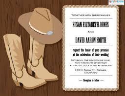 western wedding western wedding invitations