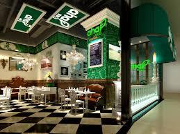 3d cafe bar cgtrader