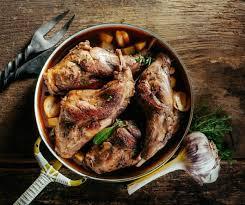 cuisine lapin au vin blanc lapin au vin blanc et aux chignons