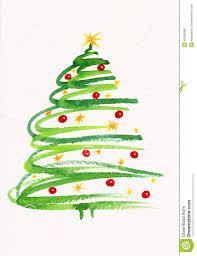 painting christmas cards christmas lights decoration