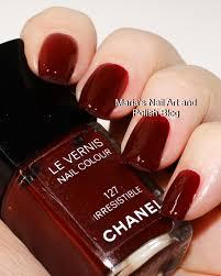 marias nail art and polish blog chanel irresistible 127 us vers